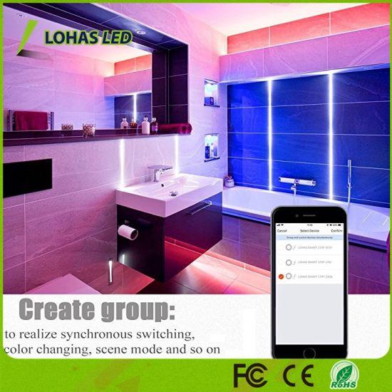 China 2 Meters Tuya Smart Wifi Led Strip Lights 30w Work