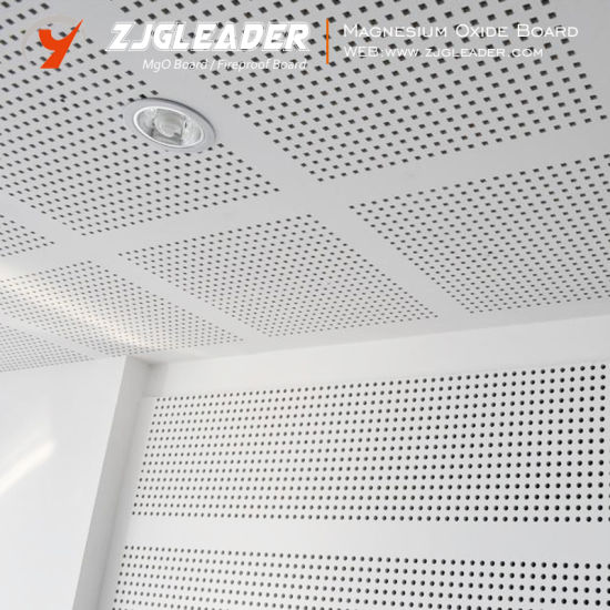 China Mgo Anti Fire Sound Insulation Ceiling Tiles China