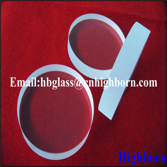 High Quality Transparent Thick Silica Quartz Glass Slide pictures & photos