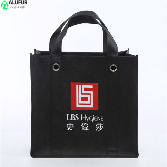Large Heavy Duty Non Woven Tote Bag with Rivet