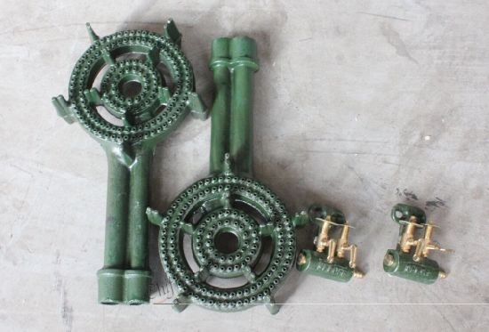 C30 Cast Iron 2 Ring Propane Gas Stove Cast Iron Burner