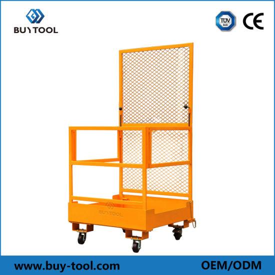 Fold-Down Forklift Maintenance Platform
