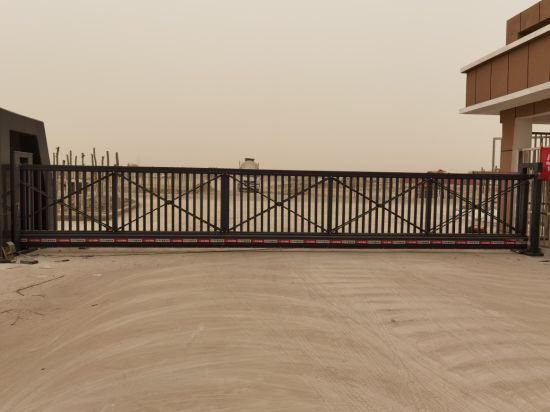 Electric Security Cantilever Gates for Villa and Factory