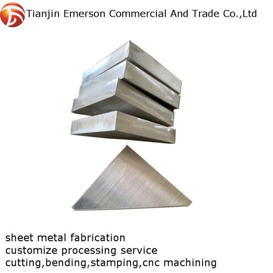 Custom Stainless Steel Stamping Bending Parts Sheet Metal Fabrication