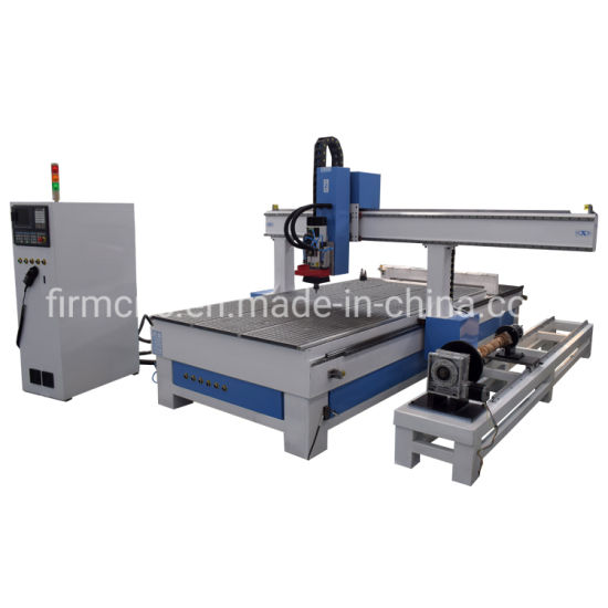Professional Woodworking 4 Axis Atc CNC Router Engraving Machine for Cabinet Furnitures