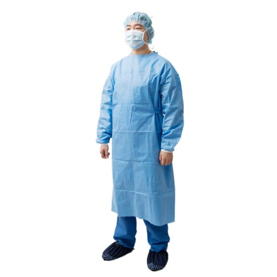 Body Cover Reinforced Chest Protective Isolation Disposable Surgical Gown