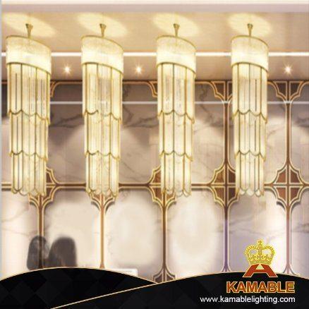 Decorative Modern Customized Made Project Luxury Crystal Large Pendant Lighting