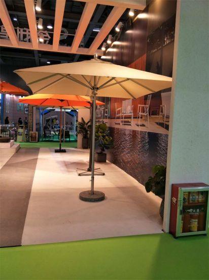 Leisure Garden Potia Gazebo Hotel Outdoor Centre Pole Umbrella