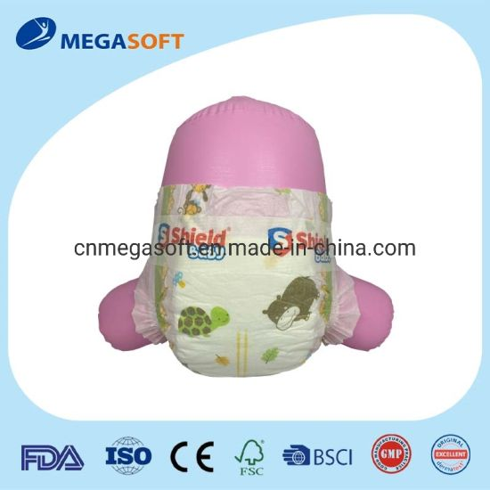 Baby Care Product Tape Type Disposable Baby Diaper with Magic Tape
