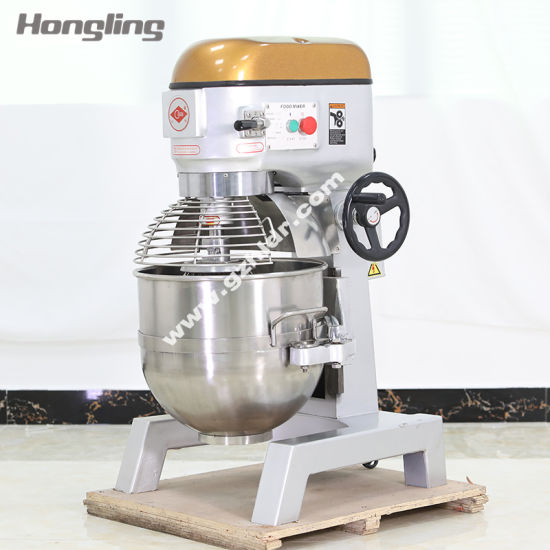 Wholesale Bakery Machine 40L High-Speed Planetary Mixer with Ce Certification