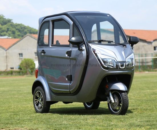 Hot Sale 3 Wheel Closed Electric Tricycle with EEC Certification