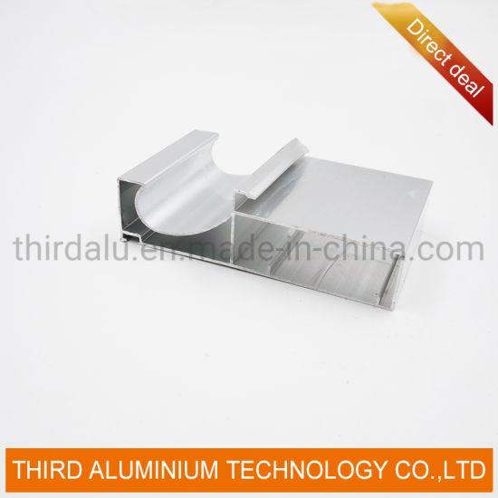 Wholesale Custom 6063 Frame for Solar Panel Anodized Shutter for Kitchen Cabinet Aluminum Profile