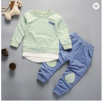 Custom Manufacturer Kids Clothing Set Wholesale Child Children's Boy Boutique Clothing Baby Apparel Kids Garments