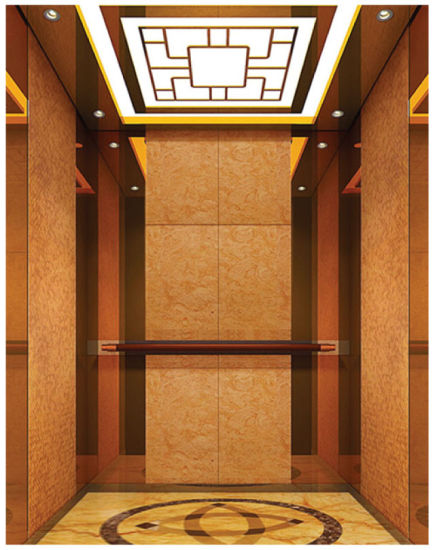Safe 1000kg Decorated Passenger Elevator Home Residential Lift pictures & photos