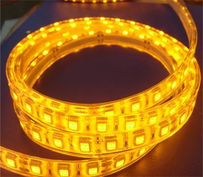 30LED/54LED/60LED/72LED/84LED/96LED/120LED/240LED Per Meter 12V Quad RGBW LED Tape IP20/IP33/IP65/IP67/IP68 LED Flexible Strip pictures & photos