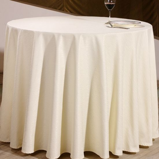 Polyester/Cotton Hotel Table Cloth Table Cover pictures & photos