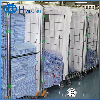 Insulated Galvanized Metal Storage Roll Wire Container pictures & photos