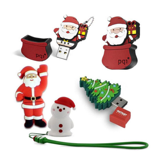 Best Price Christmas Custom PVC USB Computer Accessories for Gift pictures & photos