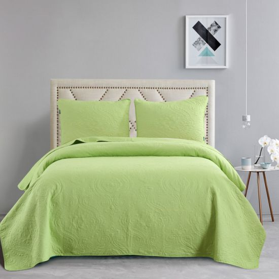 Home Textile Durable Ultrasonic Quilt Sets Summer Quilt Wholesale Cheap Lightweight Solid Bedspreads