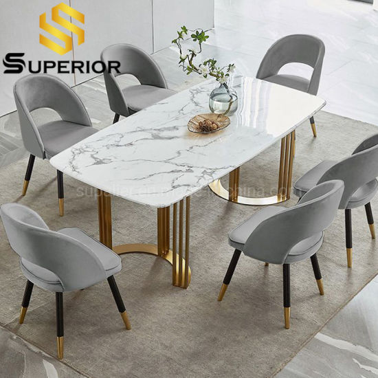 Marble Dining Table, Stone Dining Room Furniture