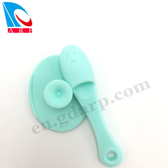 New Silicone Brush Scrubber for Baby Bath Sponge Shower