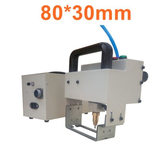 80*30mm Vin Chassis Number Marking Machine Handheld DOT Peen Pneumatic Marking Machine Portable Marking Machine for Steel