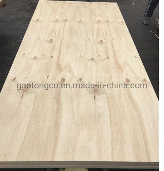 15mm Poplar Core CDX Grade Construction Pine Plywood