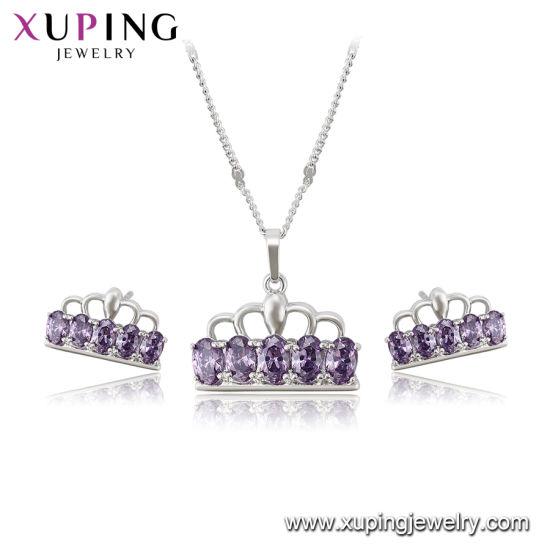 67e76fb559b9 China Valentine Day Gift Multicolor Flower Jewelry Set - China ...