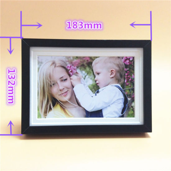 China Black Color Aluminum Photo Frames From Foshan Factory China