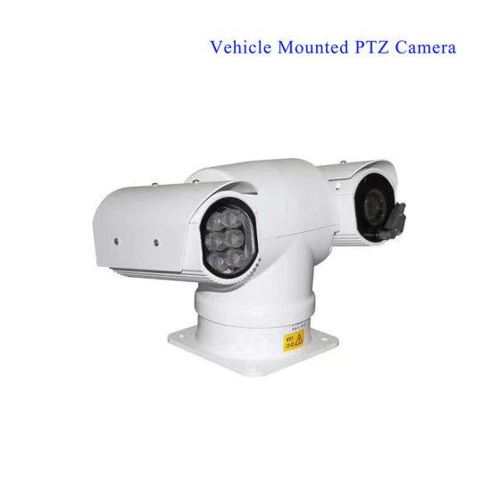 IP/Ahd/SDI Automatic Tracking Vehilce Mounted PTZ Camera