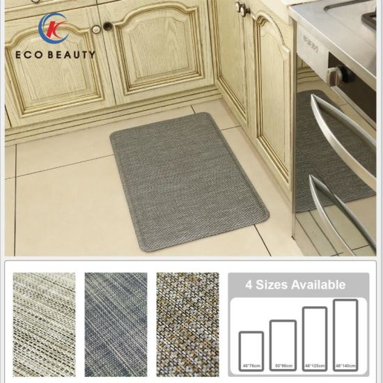 Washable PVC Antifatigue Costco Kitchen Mat