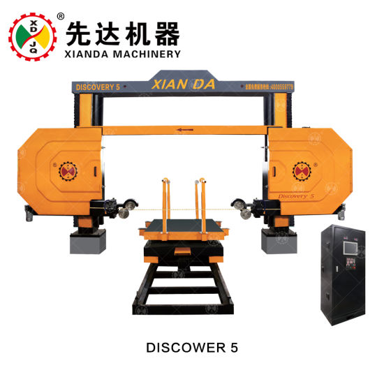 China CNC Granite And Marble Diamond Wire Saw Cutting Machine With - Rotating work table