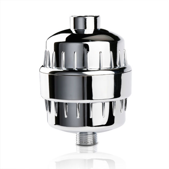 High Quality Heavy Metal Removal 12 Stages Alkaline Shower Filter for Lead Remove