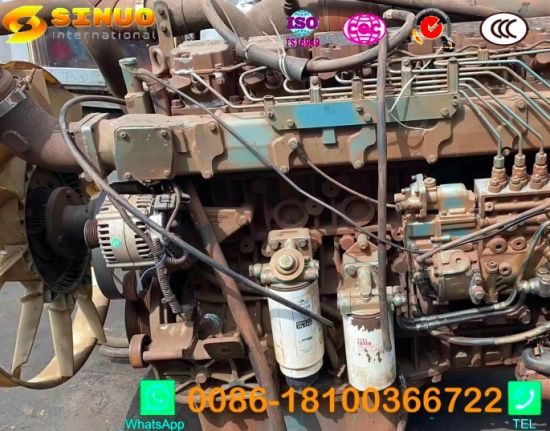 Used Sinotruk Engines 371/420 D12 Gear Box 10/12 HOWO Truck Parts Engine Parts Gearbox Parts Used Engines for HOWO Truck