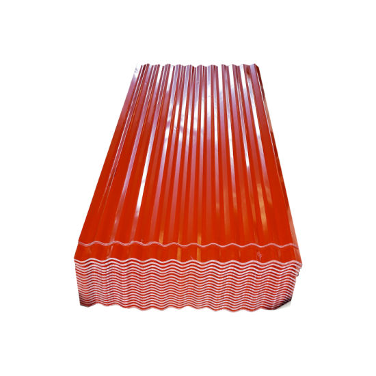 Top Selling Color Coated PPGI Corrugated Coated Steel Roof Sheet