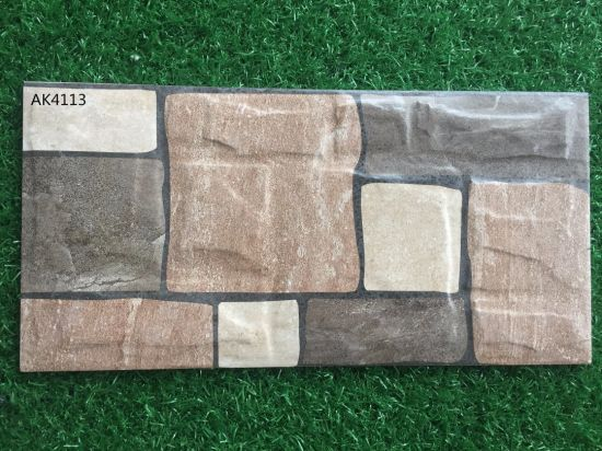 China 200*400mm Glazed Exterior Ceramic Wall Tile for Building ...