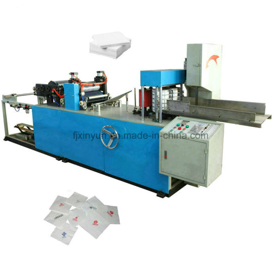 Full Automatic Folding Color Printing Napkin Tissue Paper Making Machine