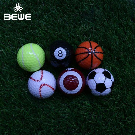 Gift Items Customized Sports Pattern Golf Ball Sets Wholesale