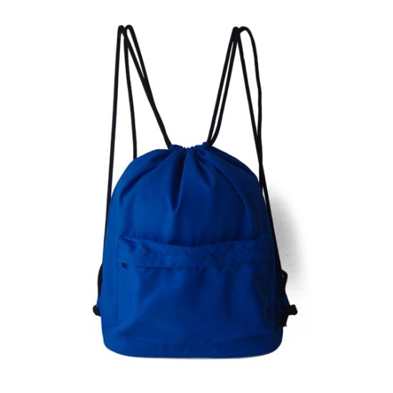 Sports Drawstring Backpack String Bag Foldable Runner Sackpack Gymsack Gym  Cinch Sack a748608db39ed