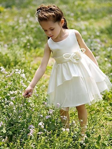 Autumn Evening Dress Flower Dress Princess Dress