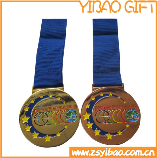 medal medallion brass metal zinc custom alloy gold hot seller provide award