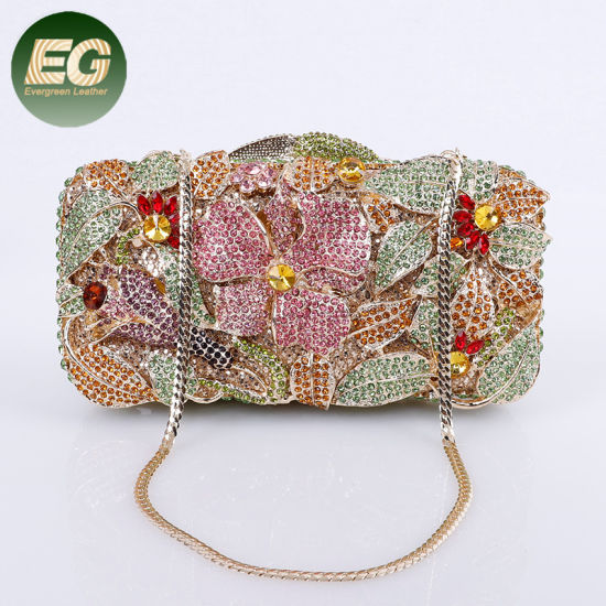 026aa88860 Crystal Rhinestone Lady Clutch Bag Women Evening Bags Wholesale Leb987