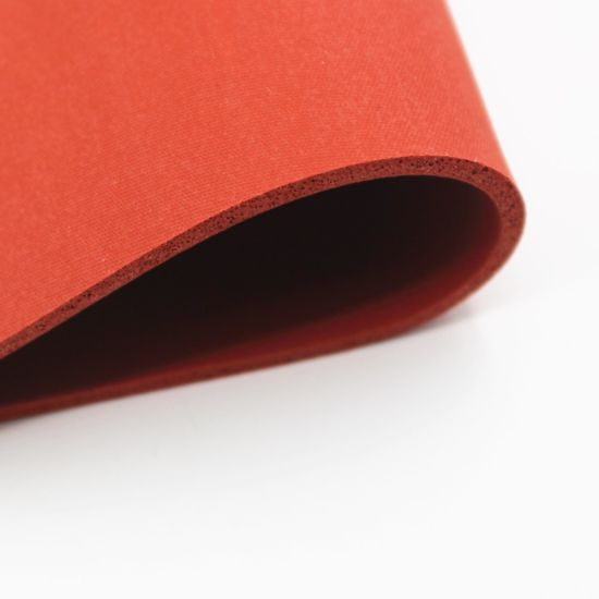 Close Surface Heat Resistant High Temperature Silicone Sponge Sheet pictures & photos