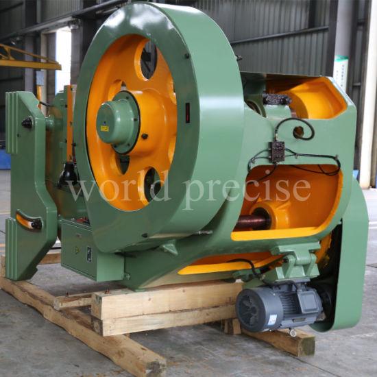 China High Precision J23 C Frame Mechanical Power Punching Press