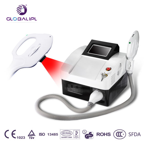 Ce FDA Approved YAG Elos IPL Elight Shr Opt / Shr IPL Hair Removal Machine