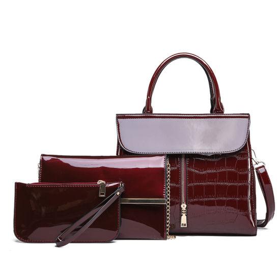 da89b851da China Whipstitch Luxury Leather Purse Fashion Women Wallet Tote ...