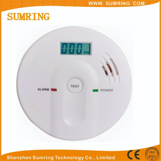 China Factory Prices Battery Operated Carbon Monoxide Detector Gas