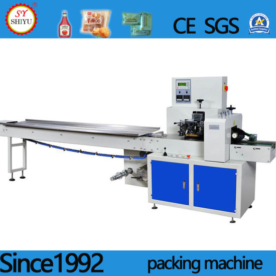 Full Automatic Multi-Function Horizontal Stainless Steel Pillow Food Packaging Packing Package Machine