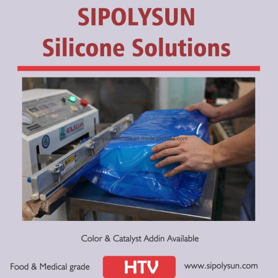 Silicone Rubber Hcr for Silicone Rubber Sheet Making Color Customize