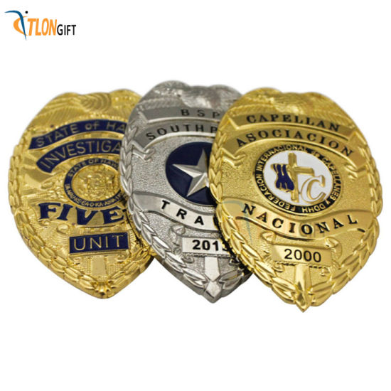 Customized 3D High Quality Metal Exquisite Shoulder Badge